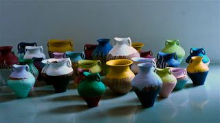 Ai Weiwei, Colored Vases, Lisson Gallery, creativity, Chinese antique vases of the Han Dynasty