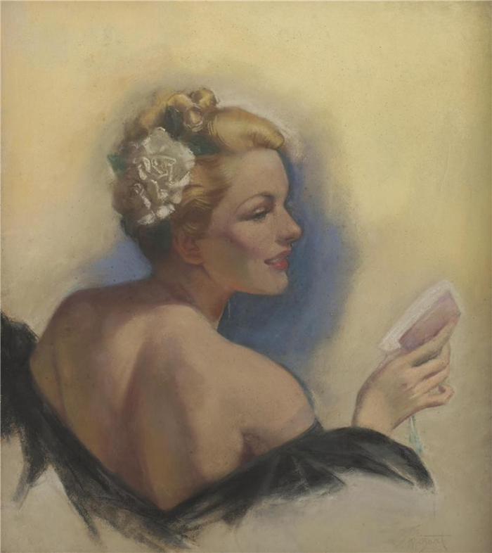 Zoë Mozert 1907-1993 American Pin-up illustrator