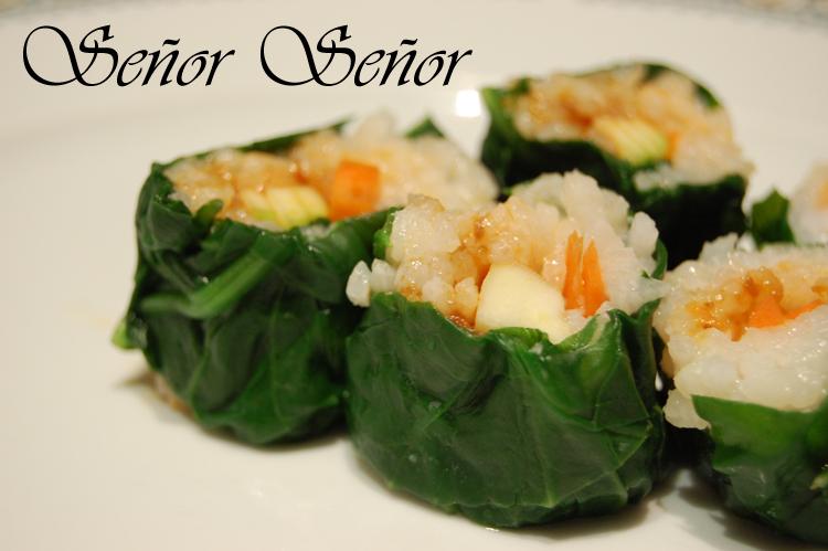 Recetas De Cocina De Sergio | Sushi De Verduras Sin Pescado Crudo Ni Algas Receta De Sergio