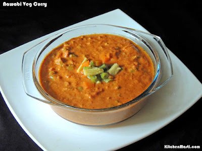 nawabi veg curry
