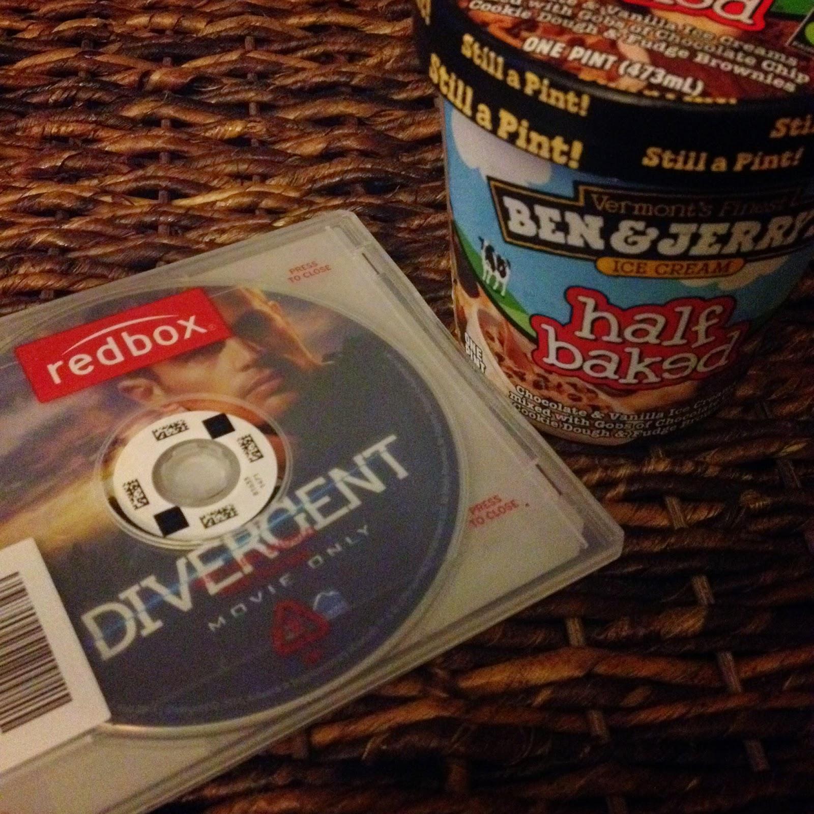 Divergent and Ben&Jerry's