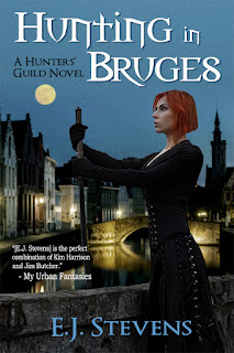 Hunting in Bruges Hunters' Guild urban fantasy by E.J. Stevens