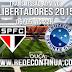 São Paulo x Cruzeiro - 22h - Libertadores (Oitavas de Finais) - 06/05/15