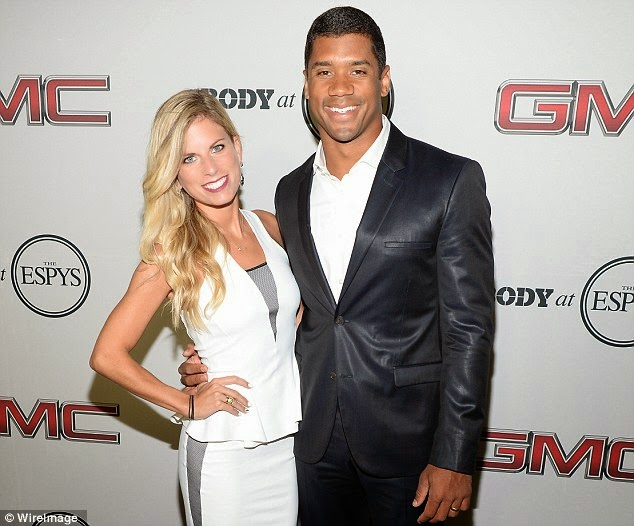 Win the Super Bowl..Dump the Mrs.    Russell Wilson Splits with Aston Meen