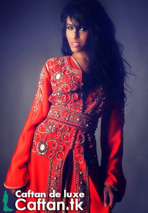 Caftan marocain de luxe 2014
