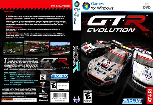 Ajuda na Instalação GTR+Evolution