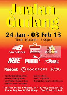 Branded Sports Warehouse Sale 2013