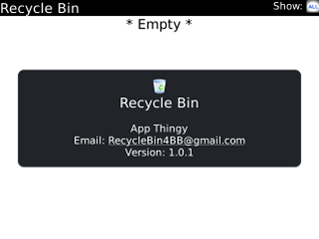 recycle bin for bb Workspaces, and sent files include a recycle bin items that you delete are moved to the recycle bin in that location in your received files list, files can be hidden from view and are.