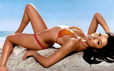 Eva Longoria Bikini Wallpaper