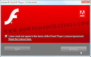 cara download adobe flash offline install