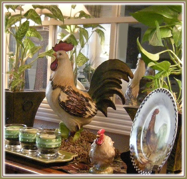 Eye For Design: Decorating With Roosters For A French