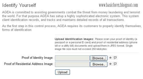 Verifikasi- Cara Mendaftar di AGEA - Marketiva