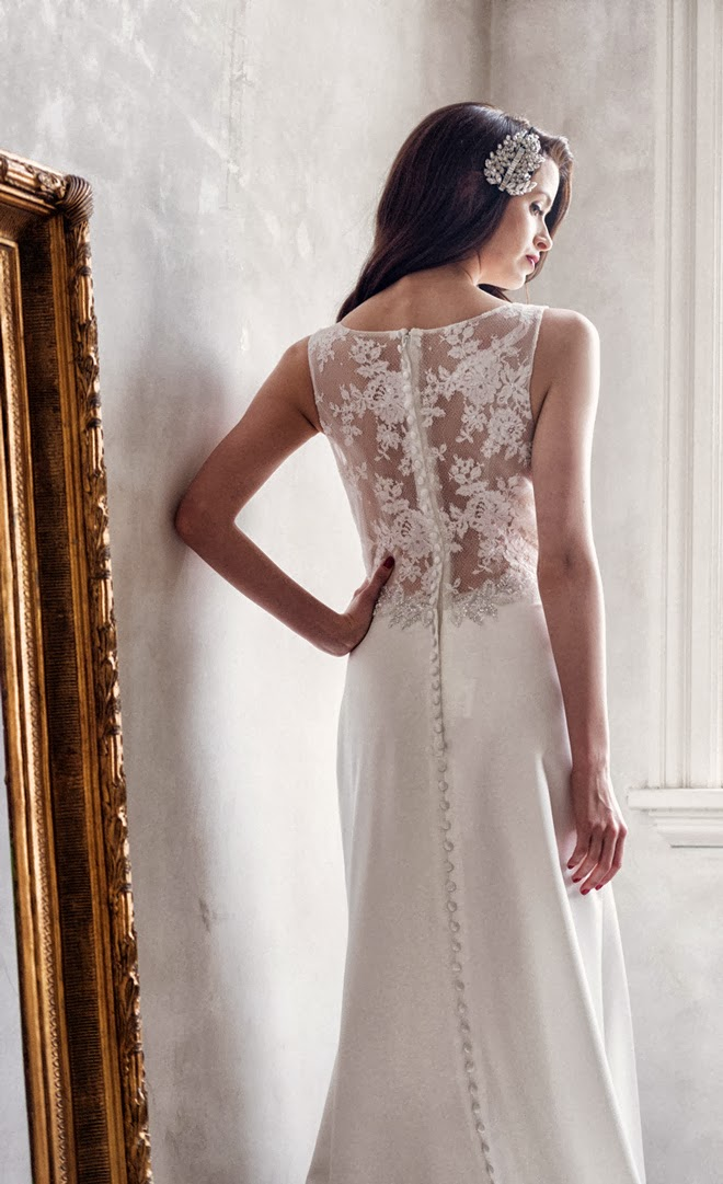 Charlotte balbier spring 2014 bridal collection a decade for Wedding dresses charlotte nc