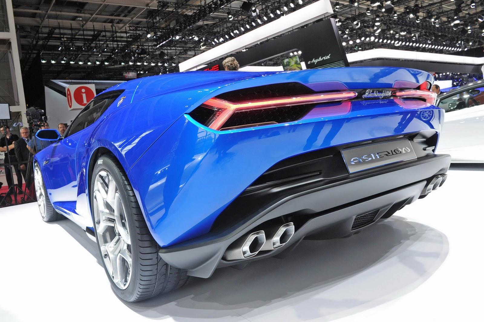 Живые фото Lamborghini Asterion 2014 года
