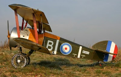 Explain band name Sopwith Camel - World War I airplane
