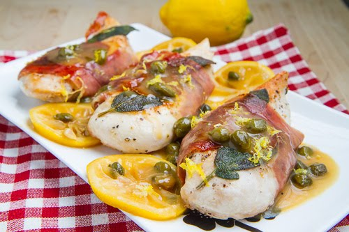 Skinny Chicken Saltimbocca on Closet Cooking