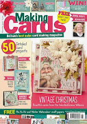 CURRENTLY PUBLISHED ON THE COVER OF THE NOVEMBER ISSUE OF MAKING CARDS MAGAZINE