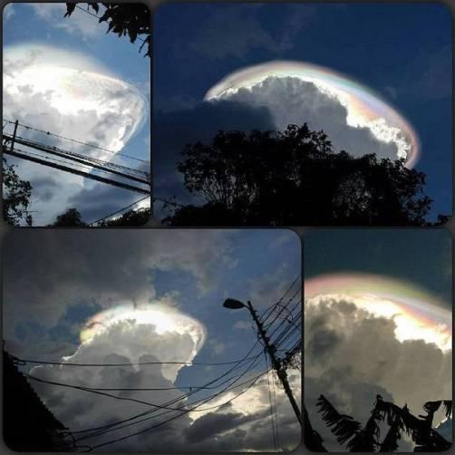 awan kematian di Costa rica