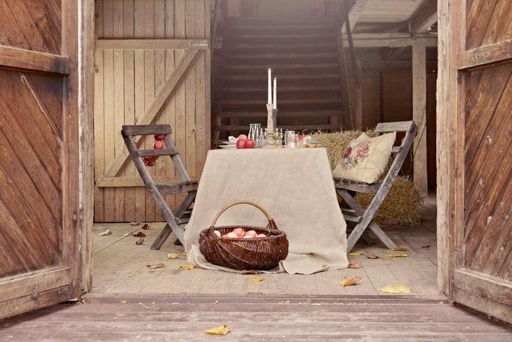 Ispirazioni ! Un melo in giardino e le mele in casa! shabby&countrylife.blogspot.it