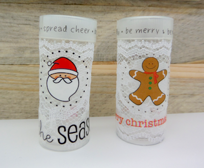 SRM Stickers Blog - SRM Holiday Fun by Annette - #tinytube #lace #stickers #stitches #stockingstuffer #gift #christmas
