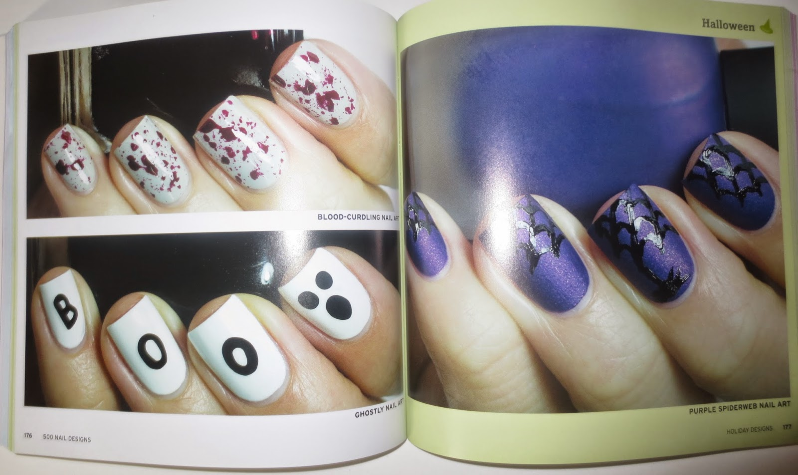 500 Nail Designs by Chelsea Franklin