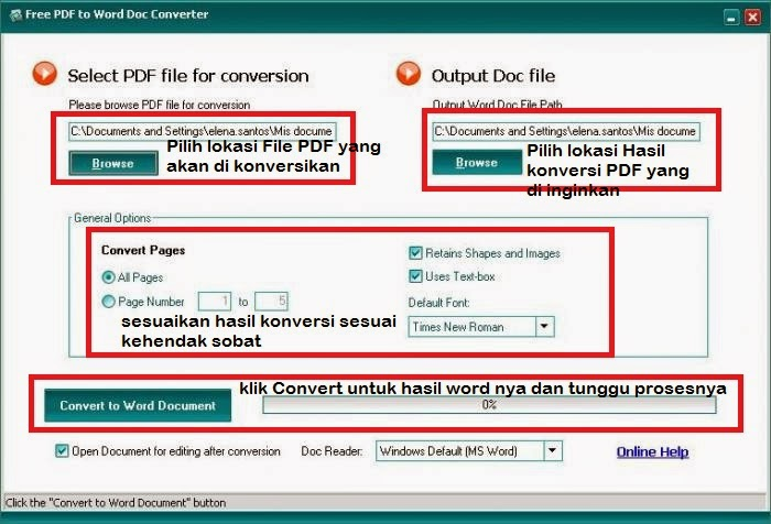 Download Software Converter PDF to Word FREE 2015