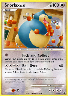 Snorlax Pokemon Card Rising Rivals set