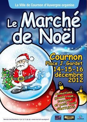 Marché de Noël 2012, Cournon