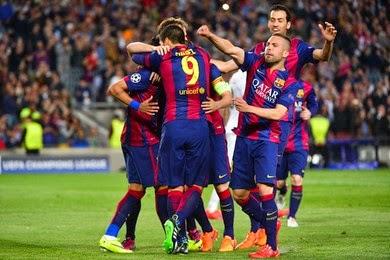 Le PSG éliminé par le Barça