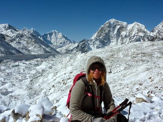 Me on the Everest Base Camp Trek Nepal