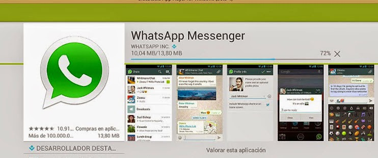 instalar whatsapp en pc