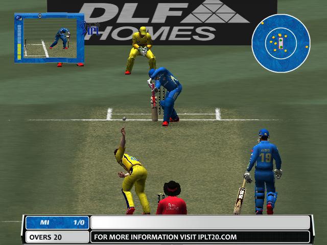 EA Cricket 09 ICL VS IPL Free