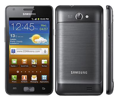 Download Firmware Samsung Galaxy R I9103 / Galaxy Z / Galaxy S II Tegra