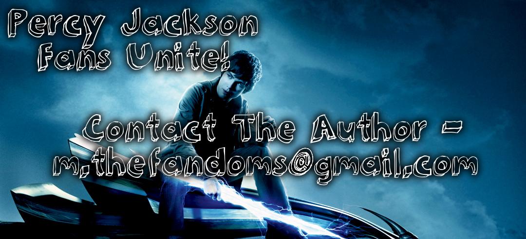 Percy Jackson Fans Unite!