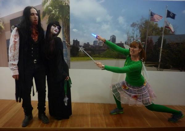 GotPrint employees in halloween costume 2013