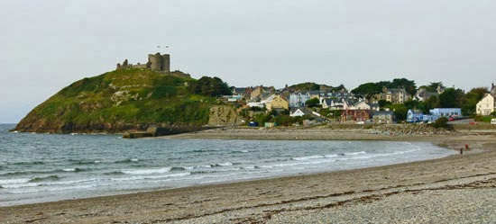 Criccieth, ruined castles, Gerald of Wales