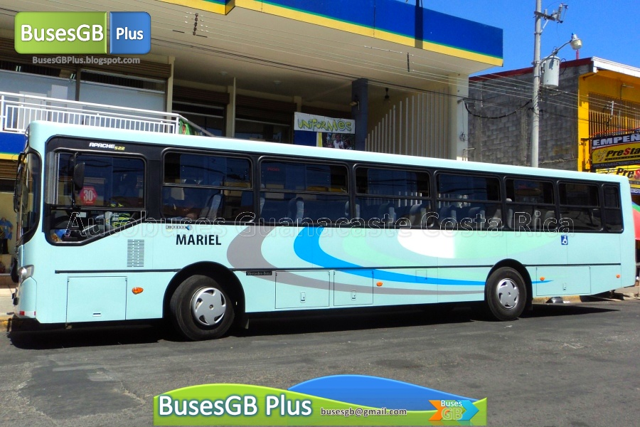 Autobuses guanacaste agosto 2013 for Mercedes benz rt 22