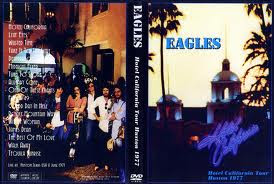 "PORTADA DEL ALBUM THE EAGLES Y EXITO """"HOTEL CALIFORNIA"""" ??? SATANICO 100%"