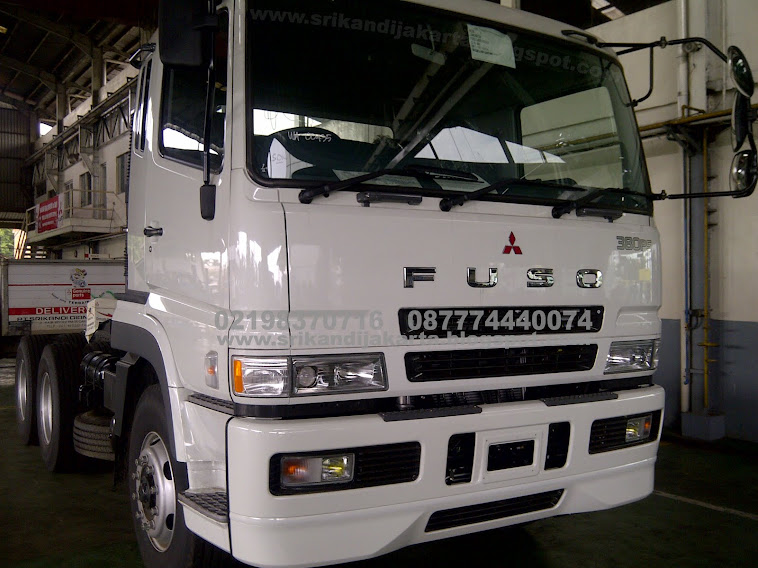 TRACTOR HEAD FUSO  FV51JH (6X4) M/T  380 PS,