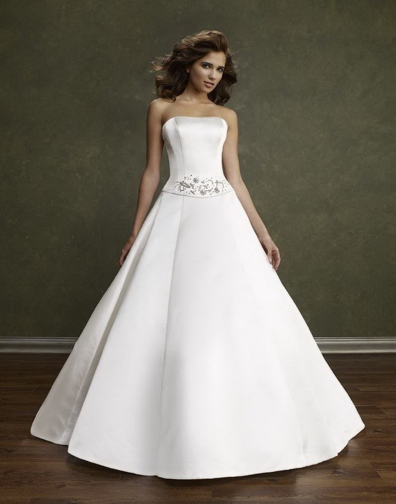 line wedding dresses