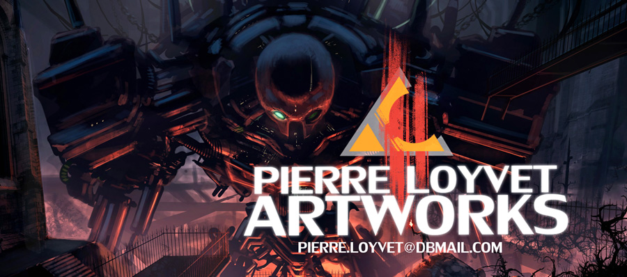 PIERRE LOYVET ARTWORKS