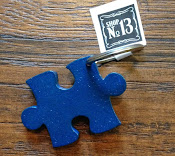 Autism Awareness Key Ring