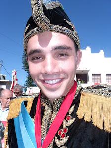 Ciclo do Divino em Florianópolis 2011 Imperador Bruno