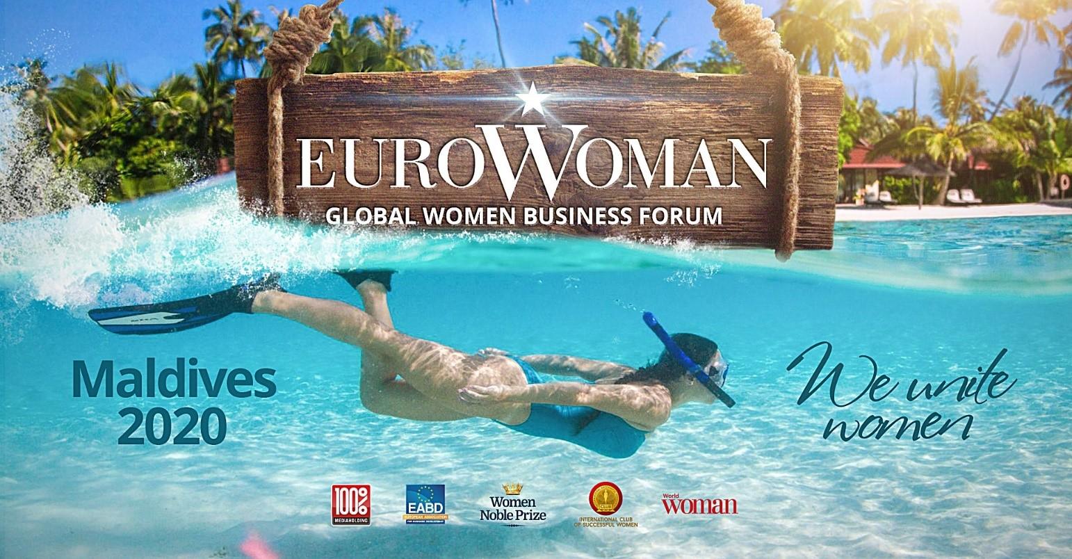 Глобальний Жіночий Форум EUROWOMAN 2020 на Мальдівах