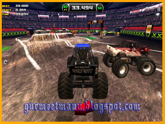 ... games grave digger monster truck free monster truck driving game
