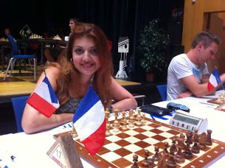La grand-maître ukrainienne Evgeniya Doluhanova © Chess & Strategy
