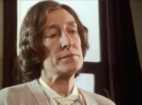 Actress Janet Henfrey as the school teacher in the BBC series 'The Singing Detective'