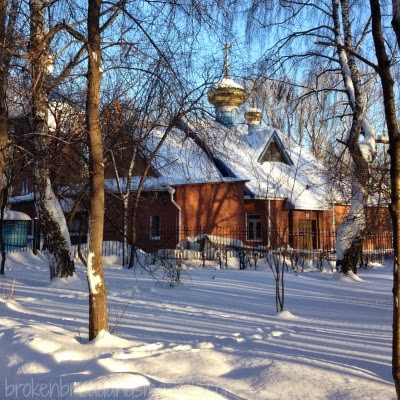 Solstice - Picture of Orthodox Church in the Snow