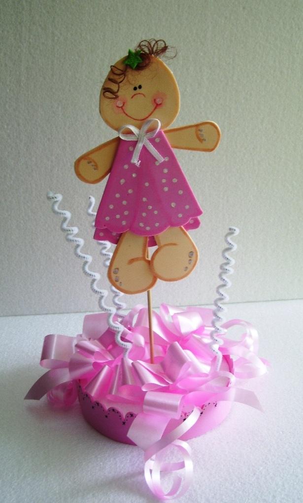 Eventos para tu Bebé: Centro de Mesa para Bautizo o Cumpleaños ...