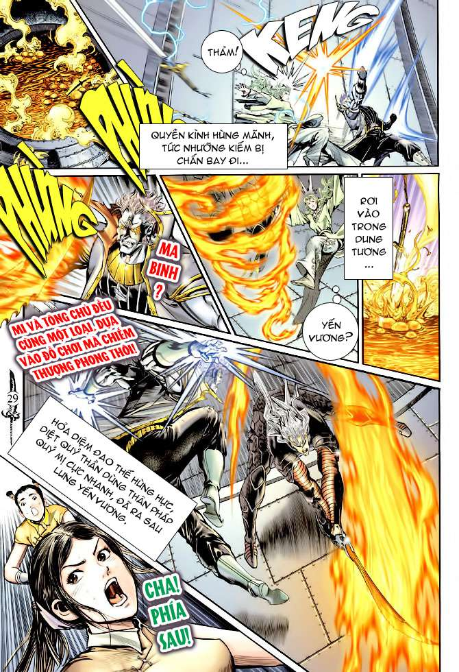 Thần Binh Huyền Kỳ II chap 14